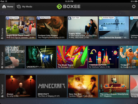 New Boxee app streams from social networks, computer to iPad