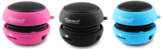 Win a FREE Naztech N15 3.5mm Mini Boom Speaker!