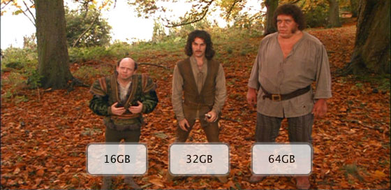 16GB, 32GB, or 64GB: Which iPhone 4S capacity should you get?