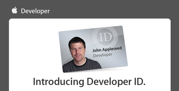 Apple introduces Developer ID to protect your app downloads outside the Mac App Store