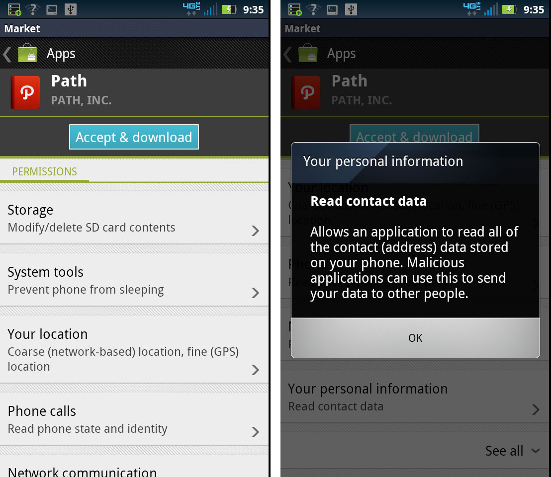 path android app free download