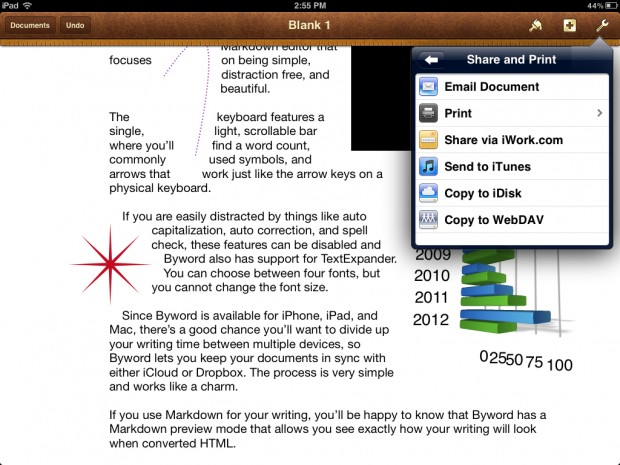pages for iphone and ipad review