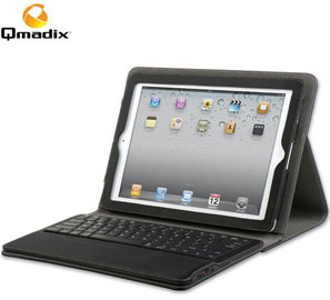 Qmadix Portfolio with Removable Bluetooth Keyboard for The new iPad only $84.95!