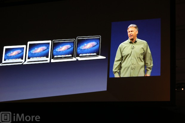 Apple announces new MacBooks at WWDC 2012