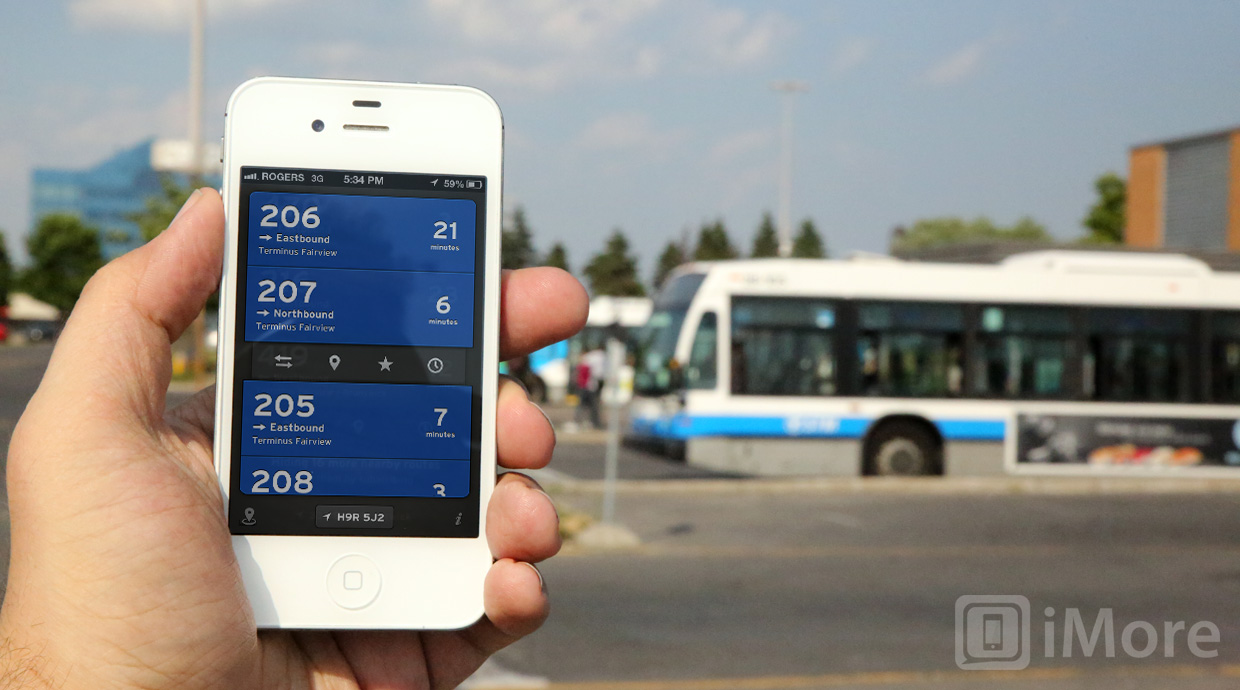 The Transit App for iPhone updates with step-by-step directions, itineraries, and more