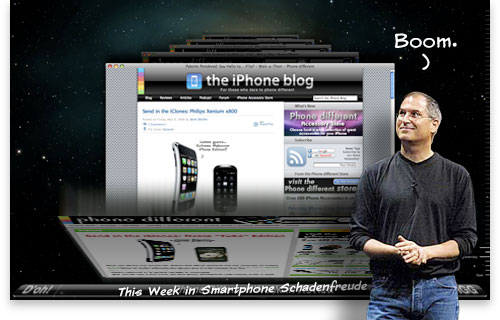 This Week in iPhone Schadenfreude 08-05-10