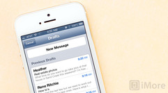 How to quickly access draft emails on the iPhone and iPad