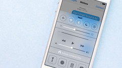 How to disable access to Control Center from within apps in iOS 7