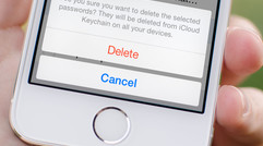 How to delete saved passwords from iCloud Keychain