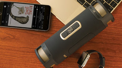 SCOSCHE's BoomBOTTLE+ is a rugged Bluetooth speaker that can charge your iPhone