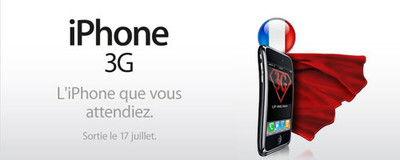 iPhone 3G in France