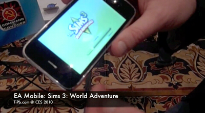 EA Mobile Hands-on with Sim 3: World Adventure -- TiPb @ CES 2010