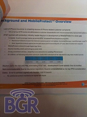 AT&T to offer MobileProtect iPhone insurance