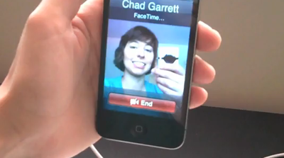 iPhone 4 features: FaceTime video chat hands-on