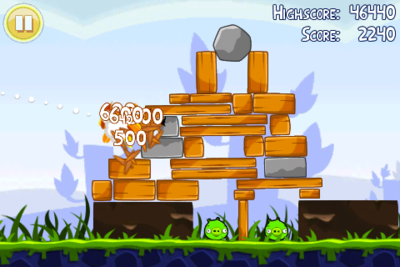 Best iPhone games: Angry Birds