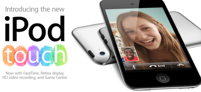 iPod touch 4 with FaceTime and Retina Display