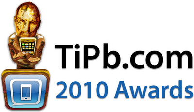 TiPb.com 2010 App, Accessory, and iOS awards