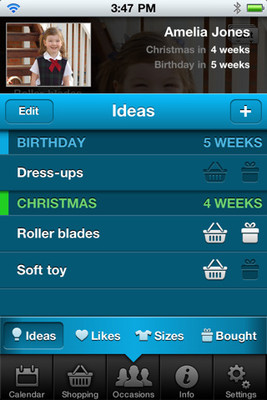 Top Christmas apps for iPhone: Gift Plan