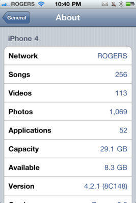 Daily Tip: How to find out what iOS software you're running