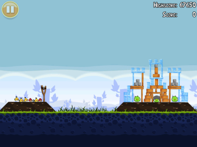 Best iPad apps: Angry Birds HD