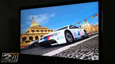 Real Racing 2 HD to provide 1080p, full screen video out to TV