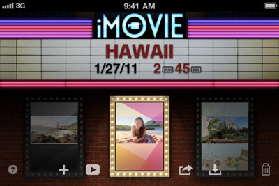 Best must have iPad 2 apps - iMovie