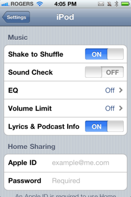 Daily Tip: How to turn off shake to shuffle in iPod app