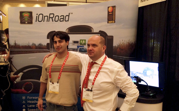 iOnRoad augmented reality driving assistant for iPhone, iPad