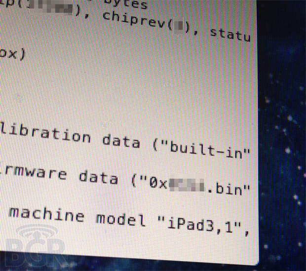 Leak shows iPad 3 with quad-core A6 chip and LTE