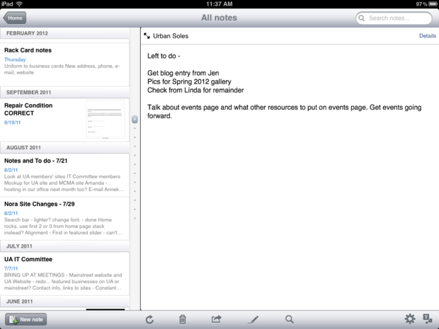 evernote best app to take and organize notes on your ipad imore