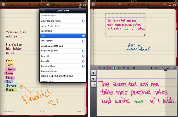 Best app for taking handwritten notes with your iPad: Noteshelf