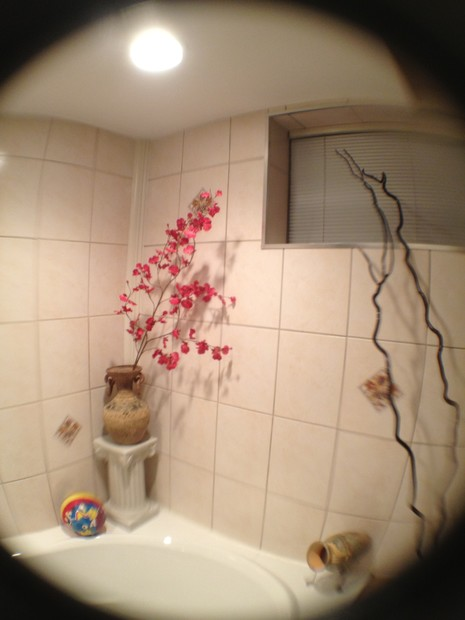 You can fit way more into the picture with a Mujjo fisheye lens... even if it does warp around you.