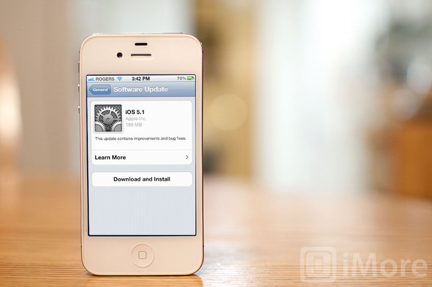 iOS 5.1 available OTA and on iTunes now!