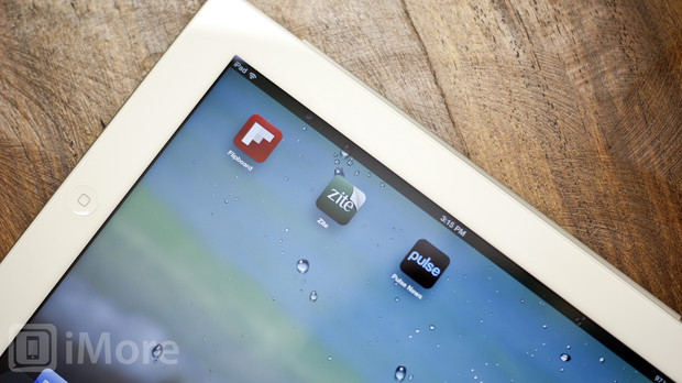 Zite vs Pulse vs Flipboard - iPad personalized magazine app shootout