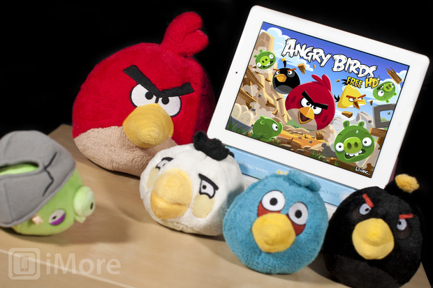 Free Angry Birds game for iPad
