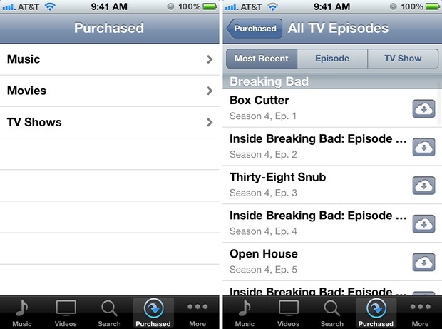 How to redownload purchased tv shows from iCloud on your iPhone, iPad, or iPod touch