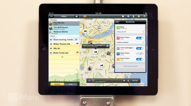 Free IM+ app for iPad