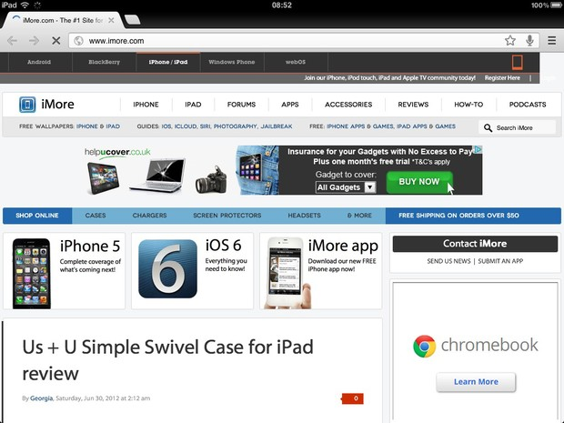 change default browser iphone how to make chrome your default ios browser with 13765