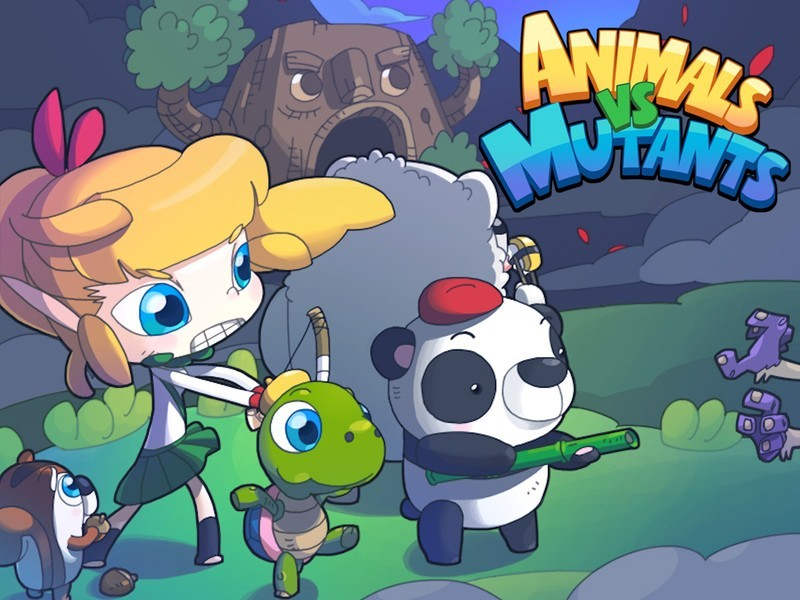 Fight for the forest in Animals vs Mutants