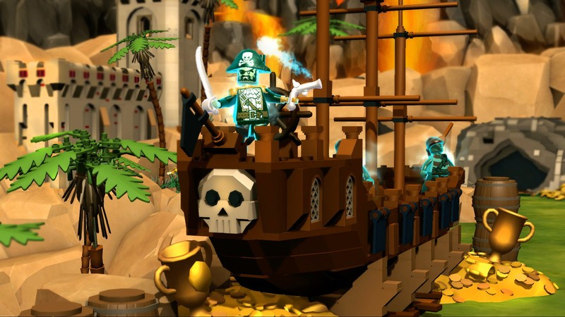 Lego Minifigures Online lets you battle across classic Lego worlds with your friends