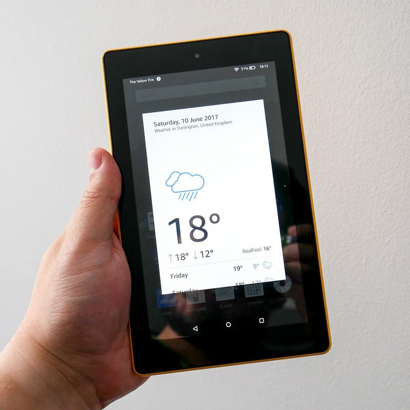 Amazon's Fire 7 Tablet Is Down To Just $35 Right Now
