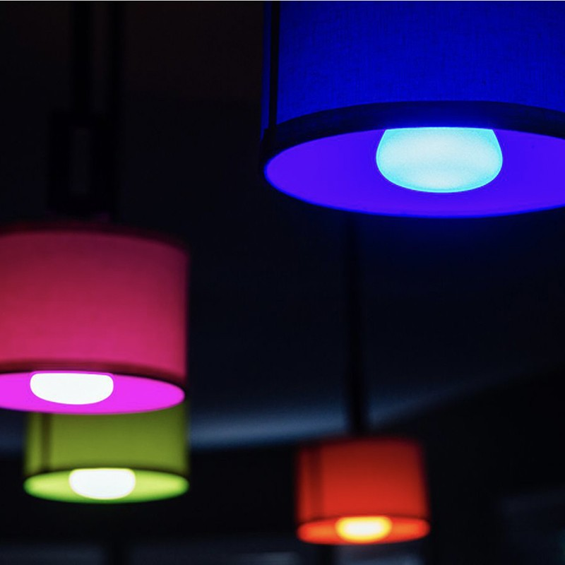 Add Some Multi Colored Smart Lighting To Your Home With