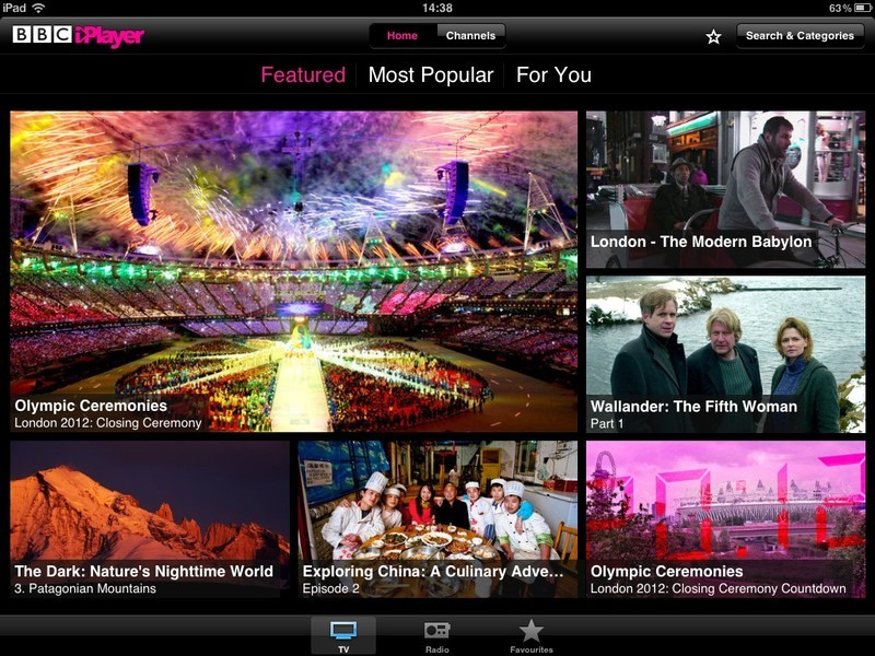 BBC iPlayer gets updated with retina quality video and performance improvements