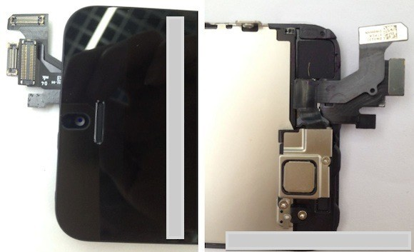 iPhone 5 LCD shield and NFC chip