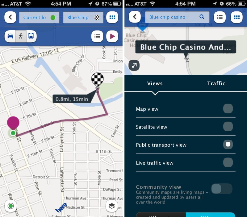 HERE Maps by Nokia vs Apple Maps vs  Google Maps apps update