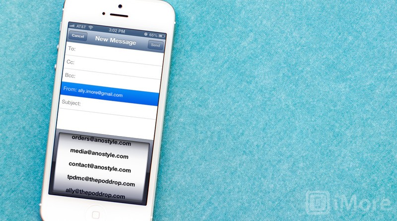 how to change your mail on iphone