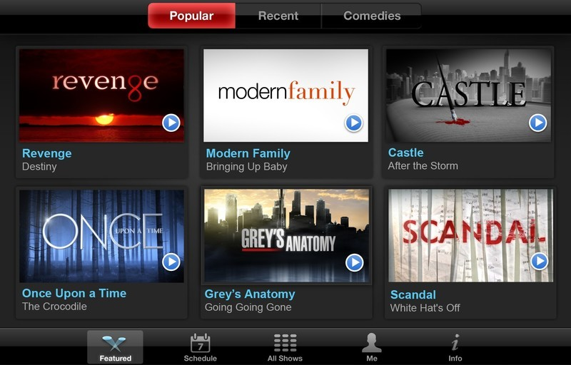 ABC said to be working on an app that will let you stream live TV to your iPhone or iPad
