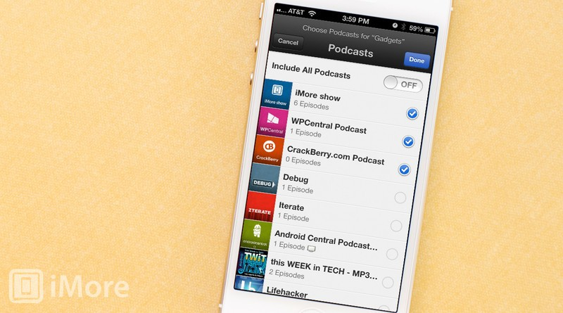 How to create your own stations in the Podcasts app for iPhone and iPad