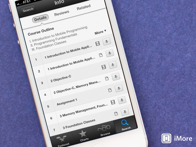 How to download iTunes U assignments and course material to iBooks for iPhone and iPad