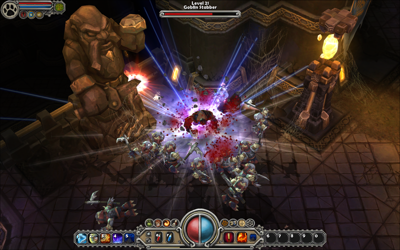 Torchlight game for Mac free from GOG.com